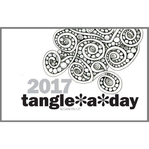 2017 Tangle A Day Calendar Cover