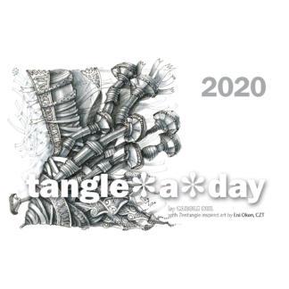 Tangle A Day 2020 Calendar Cover